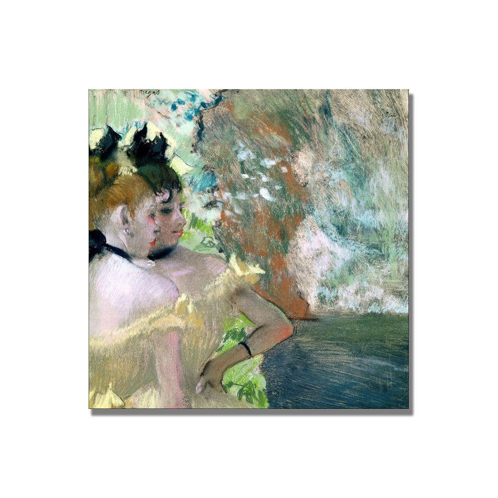 24 in. x 24 in. Dancers in the Wings Canvas Art