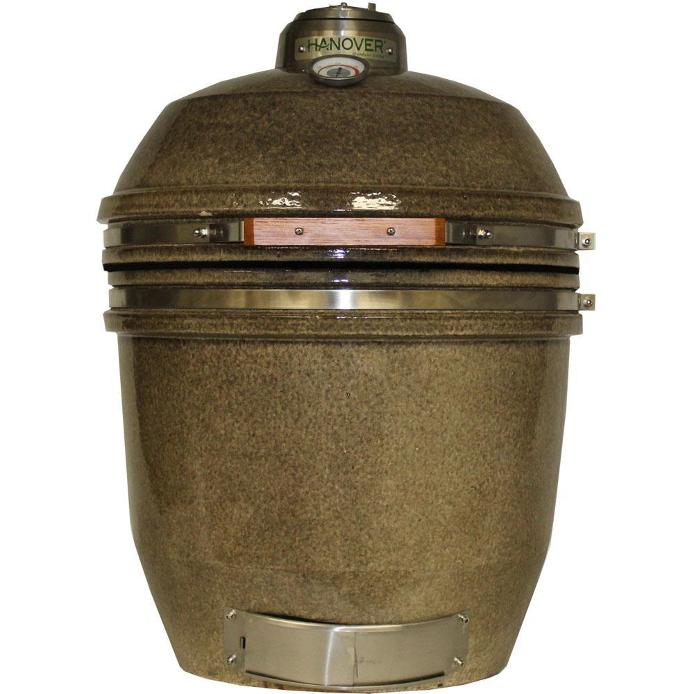 19 in. Ceramic Kamado Grill in Desert