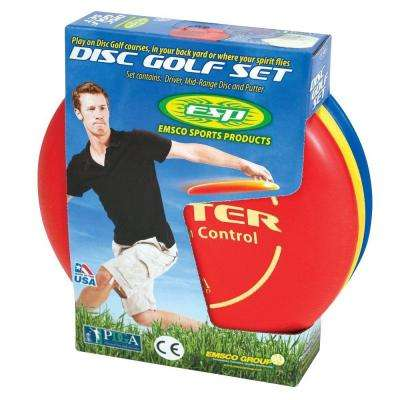 PDGA Approved Disc Golf Set