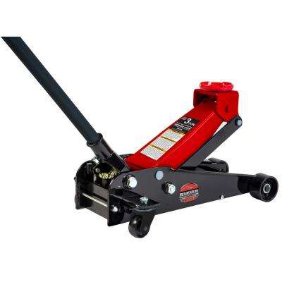 3-Ton Garage Jack with 3 in. Casters