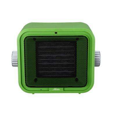 1500-Watt Ceramic Retro Electric Portable Heater - Green