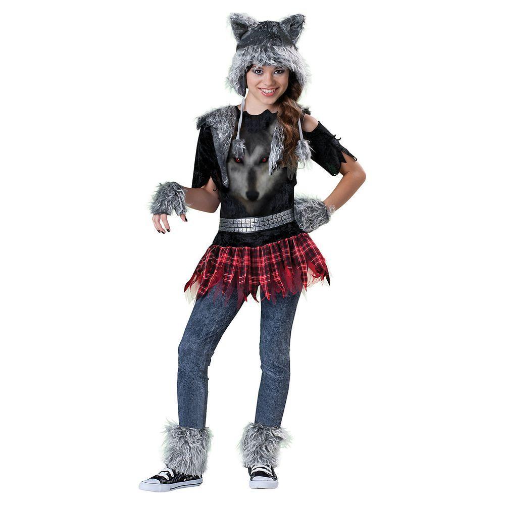 Halloween Costumes For Girls.Incharacter Costumes Medium Girls Wear Wolf Costume