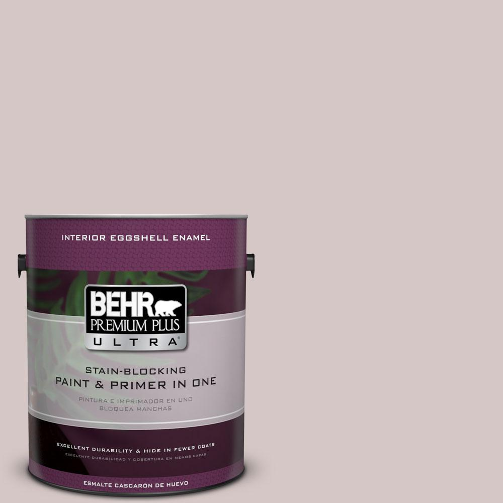1 gal. #730A-3 Lilac Tan Eggshell Enamel Interior Paint and Primer