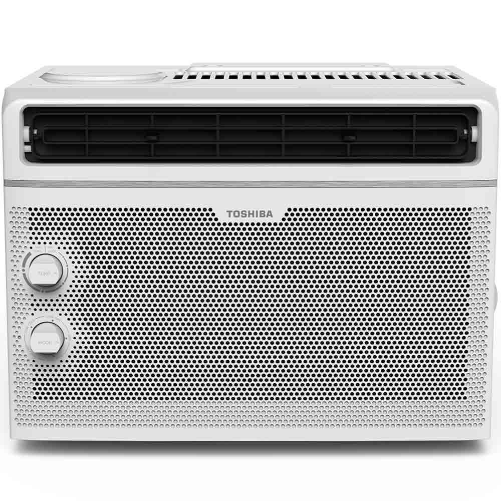 Toshiba 5 000 Btu 115 Volt Window Air Conditioner In White