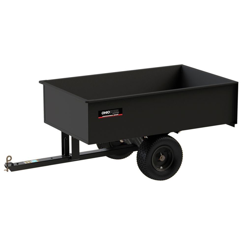 Ohio Steel 20 cu. ft. 1500 lb. Capacity Welded Steel Dump Cart