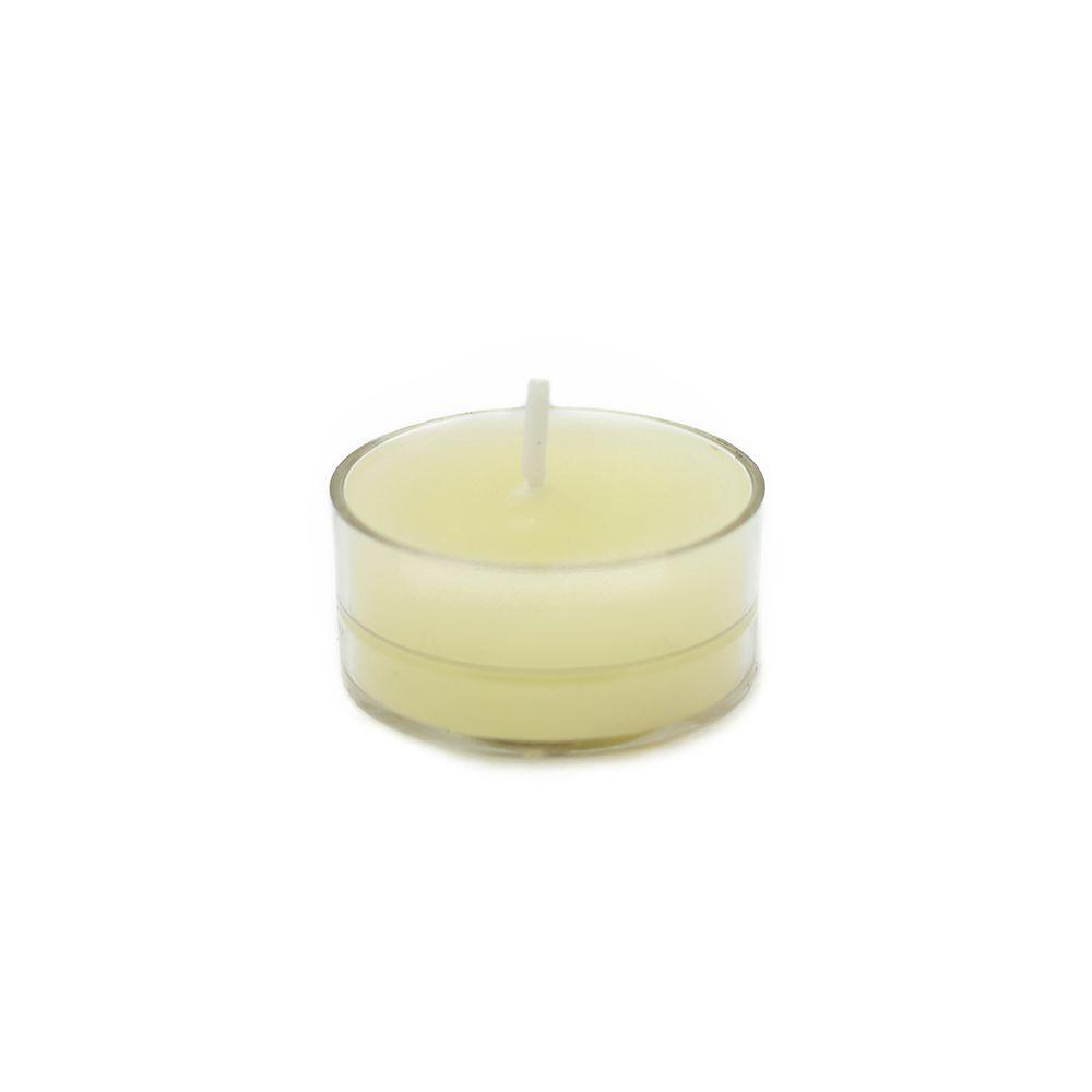 1.5 in. Ivory Tealight Candles (50-Pack), Beige / Ivory