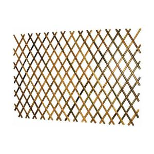 72 inch L x 36 inch H Expandable Bamboo Trellis with Aluminum Rivets