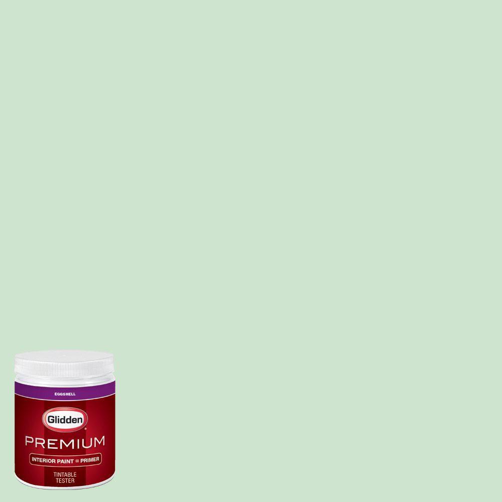 Glidden Premium 8 Oz Hdgg57d Morning Dew Drop Green