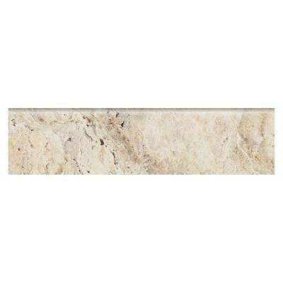 Travisano Trevi 3 in. x 12 in. Porcelain Bullnose Trim Floor and Wall Tile