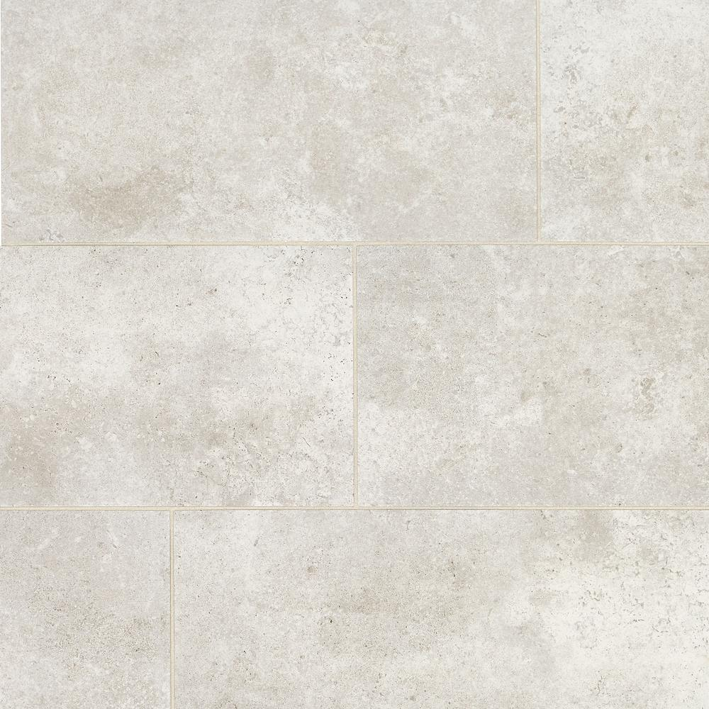 Daltile Roswell Gray 12 in. x 24 in. Glazed Porcelain Floor and Wall Tile (1.95 sq. ft. / piece)