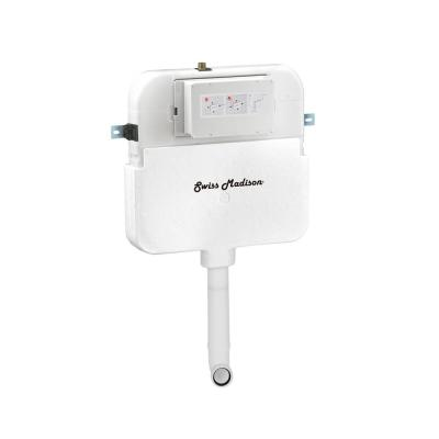 0.8/1.28 GPF 2 ft. x 4 ft. Concealed Dual Flush in Wall Toilet Tank Carrier for Back to Wall Toilet in White