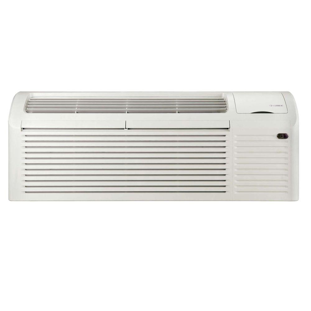 GREE Packaged Terminal Air Conditioning 9,000 BTU (0.75 Ton) + 3kW Electrical Heater (11.4 EER) 230V