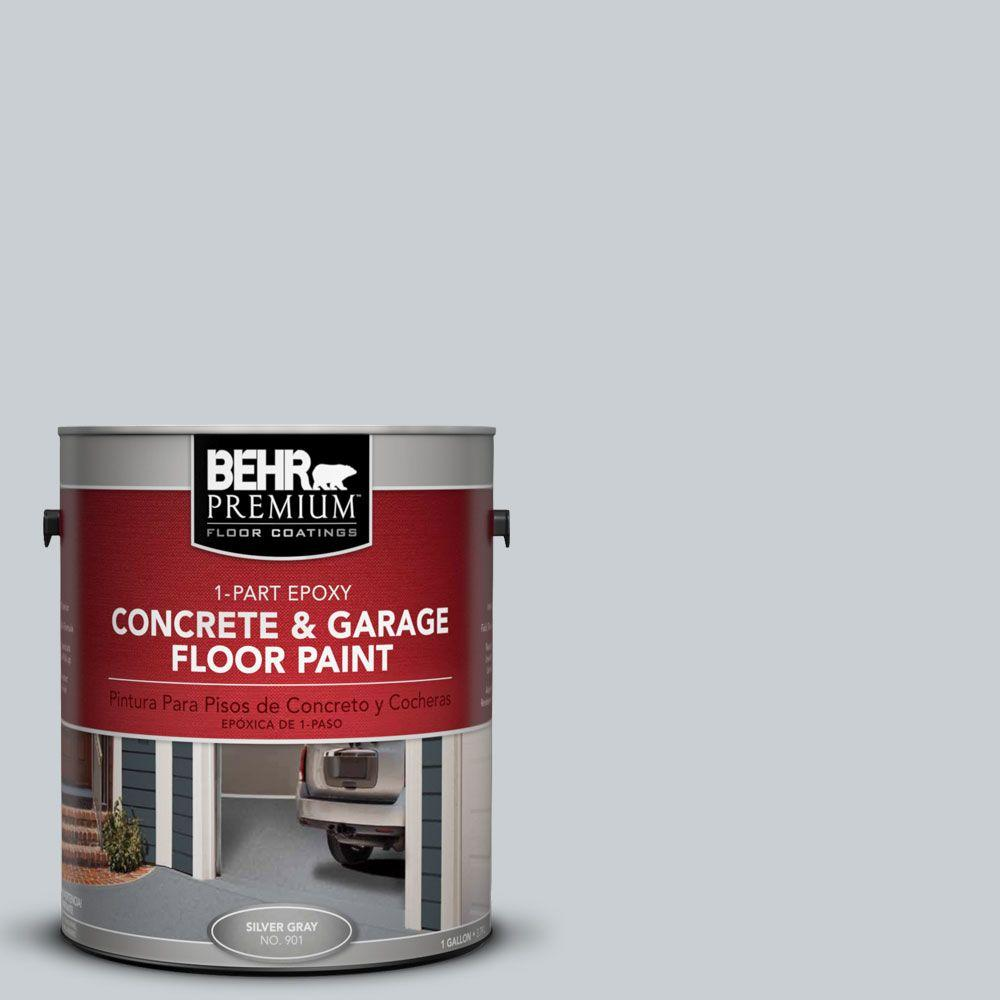 BEHR Premium 1-Gal. #PFC-61 Foggy Morn 1-Part Epoxy Concrete and Garage Floor Paint
