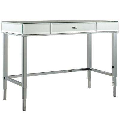 Cecilia Chrome Desk