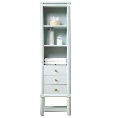 Sutton 15 in. W x 20 in. D x 72 in H 3 Drawer Tall Side Unit in Rainwater