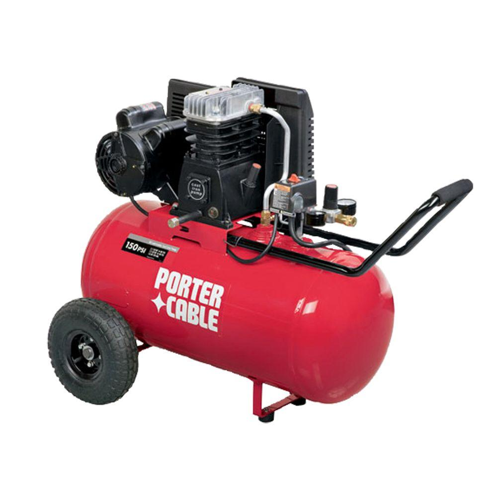 Porter-Cable 20-Gal. Portable Electric Air Compressor-DISCONTINUED