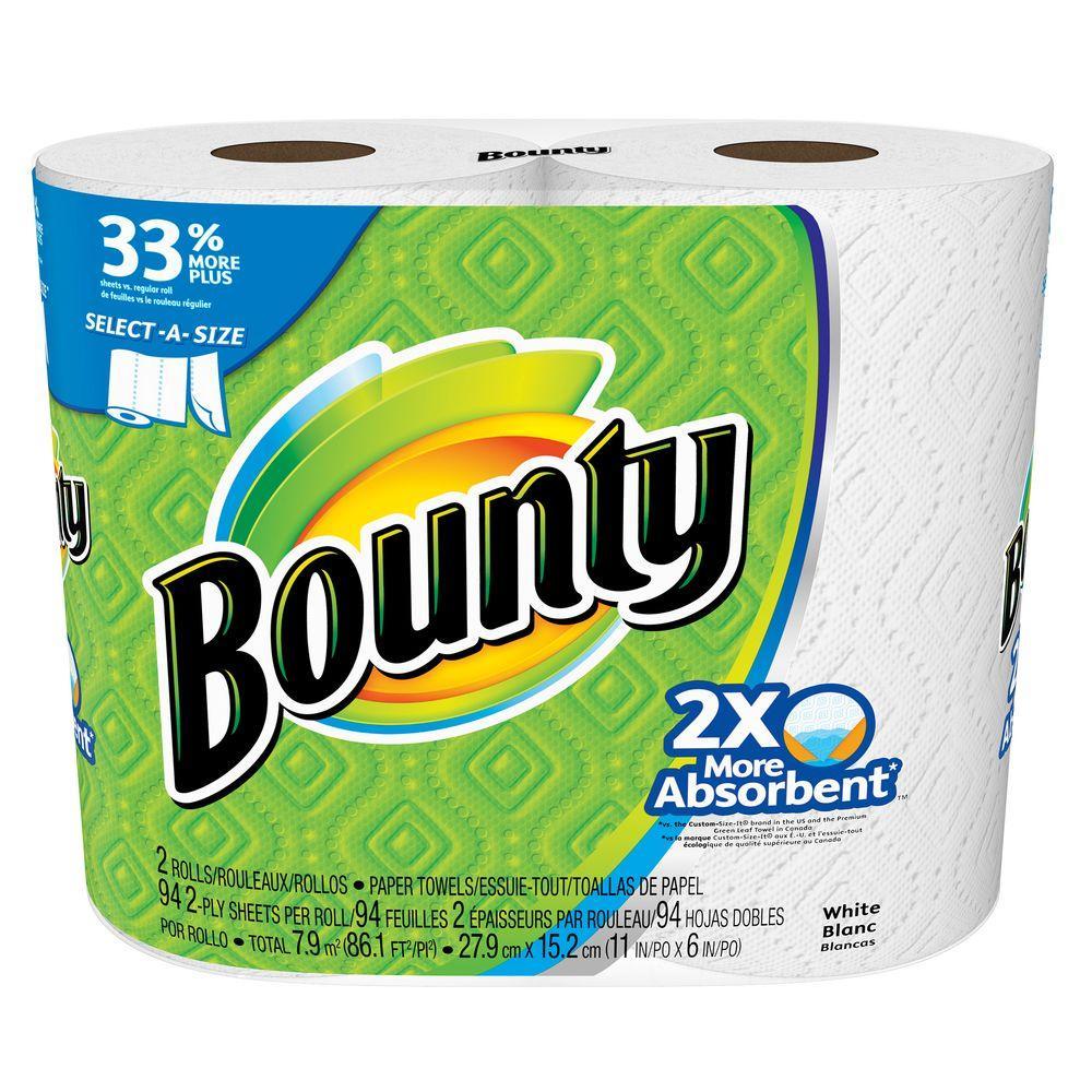 bounty paper towels food safe