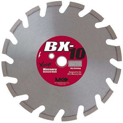 14 in. Segmented Rim Dry Cutting Diamond Saw Blade for Masonry Material