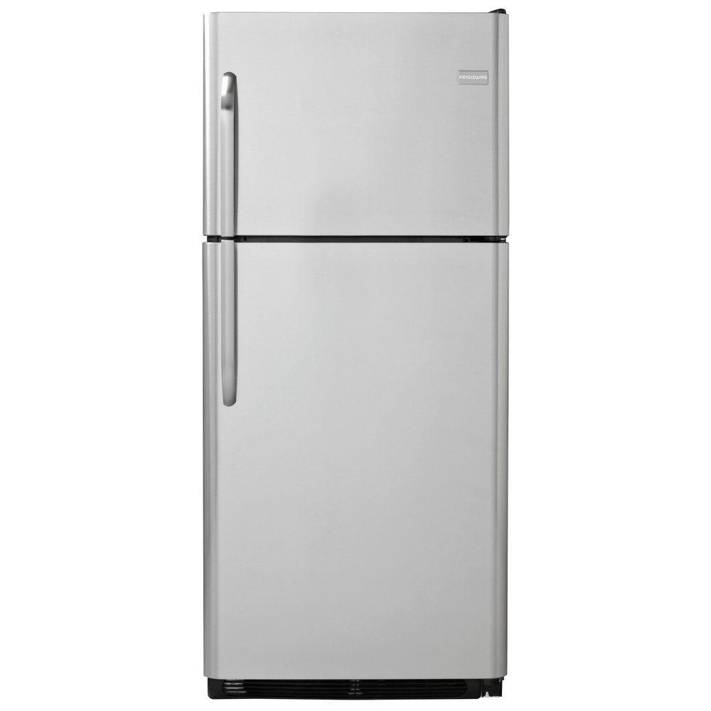 Frigidaire 20.53 cu. ft. Top Freezer Refrigerator in Stainless Steel