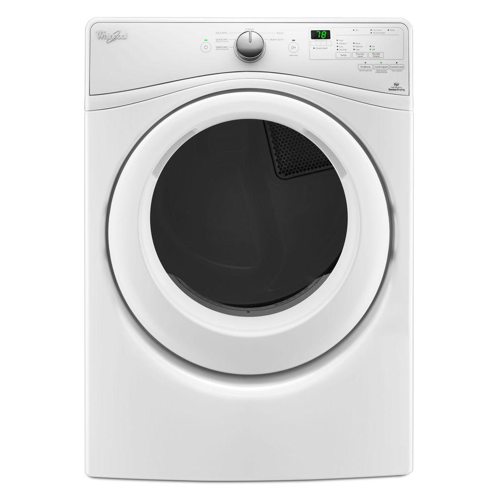 Whirlpool Whirlpool 4.2 cu. ft. Stackable White Compact Front Load Washing Machine with Adaptive Wash Technology, ENERGY STAR