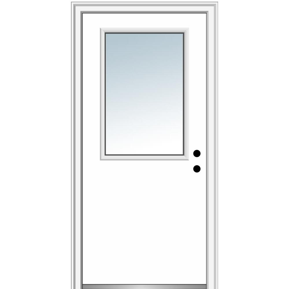 """32/"""" doors with glass with Frame"""