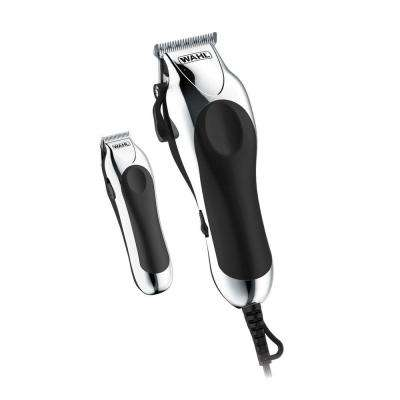 Deluxe Chrome Pro Complete Haircutting Kit