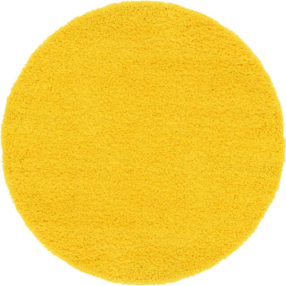 Round Yellow Rug Rugs Ideas