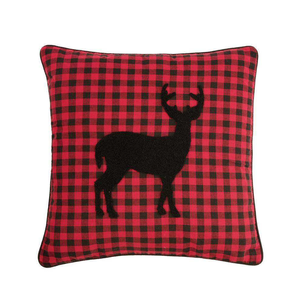 18 in. x 18 in. Woodford Deer Pillow