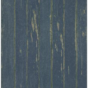 Brewster weathered plank wallpaper 145 62606 the home depot for Brewster wallcovering wood panels mural