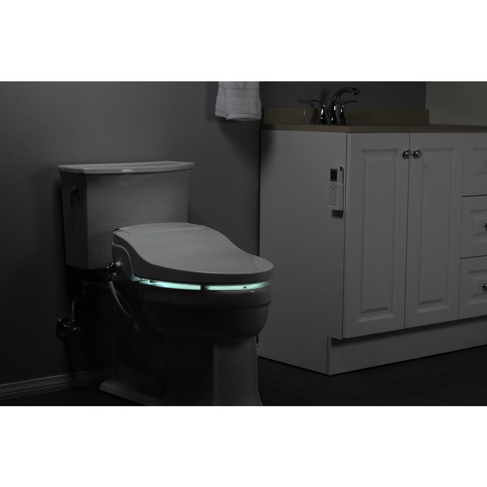 Surprising Alpha Bidet Jx Electric Bidet Seat For Round Toilets In White Forskolin Free Trial Chair Design Images Forskolin Free Trialorg