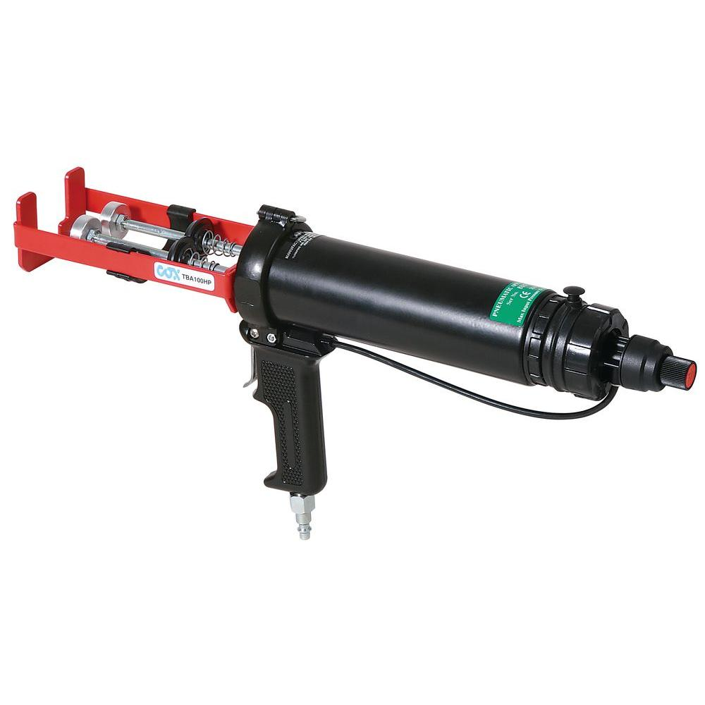 COX 100ml. x 100ml. Dual Cartridge Pneumatic Epoxy Applicator Gun-DISCONTINUED