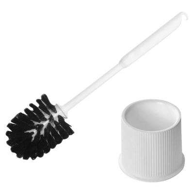 14 in. Contoured Handle Bowl Brush with Caddy Set (2 per Set)