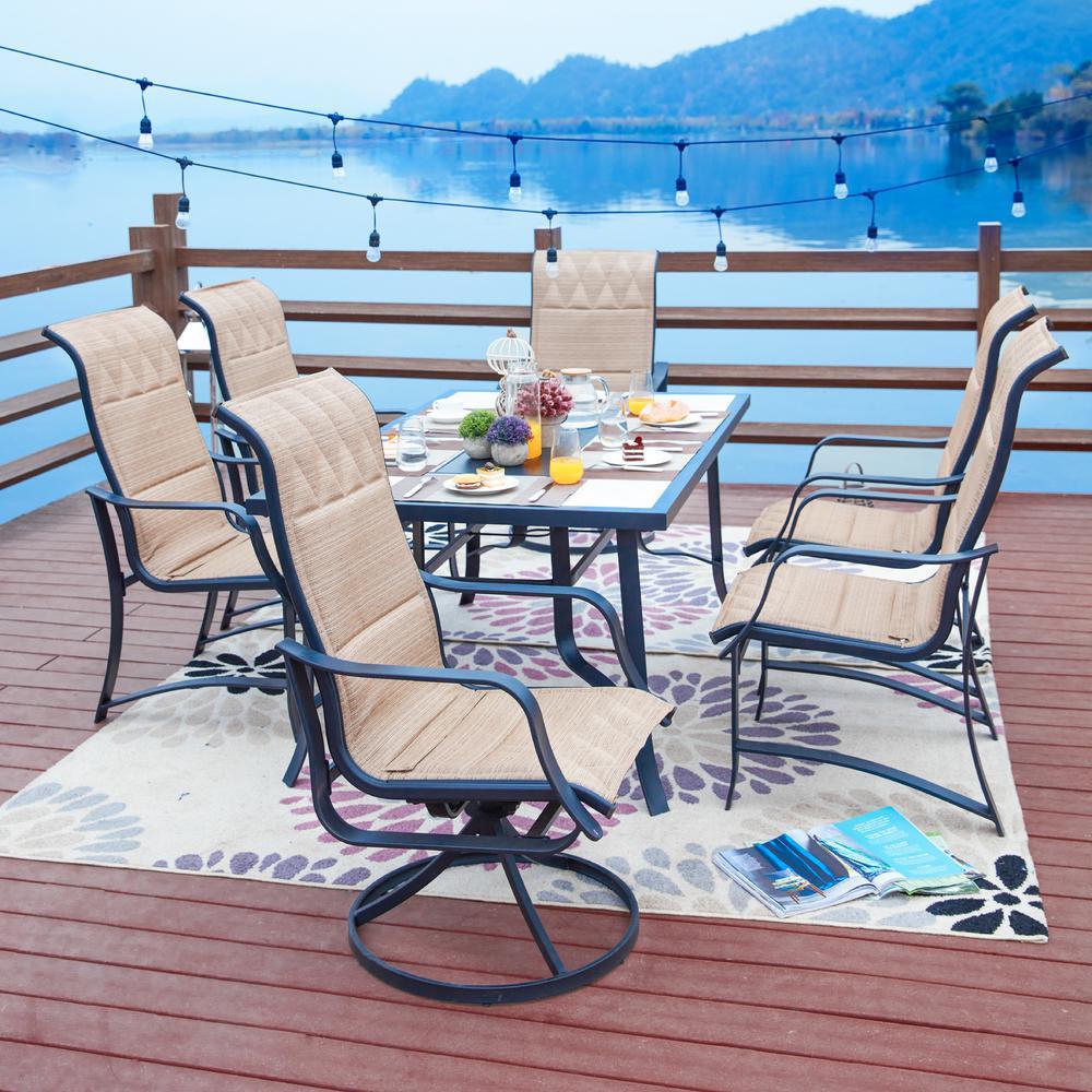 7-Piece Sling Outdoor Dining Set