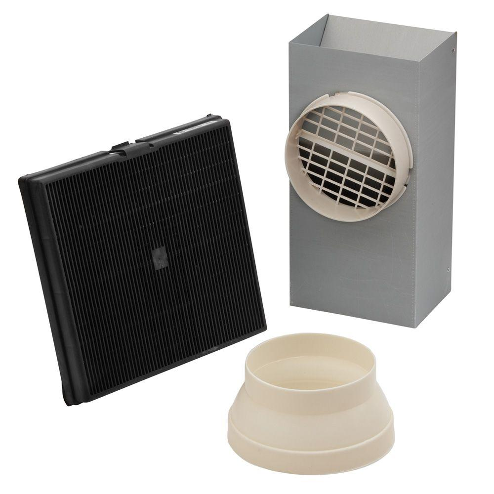 Ductless Recirculation Kit for E54000 Series Island Range Hoods