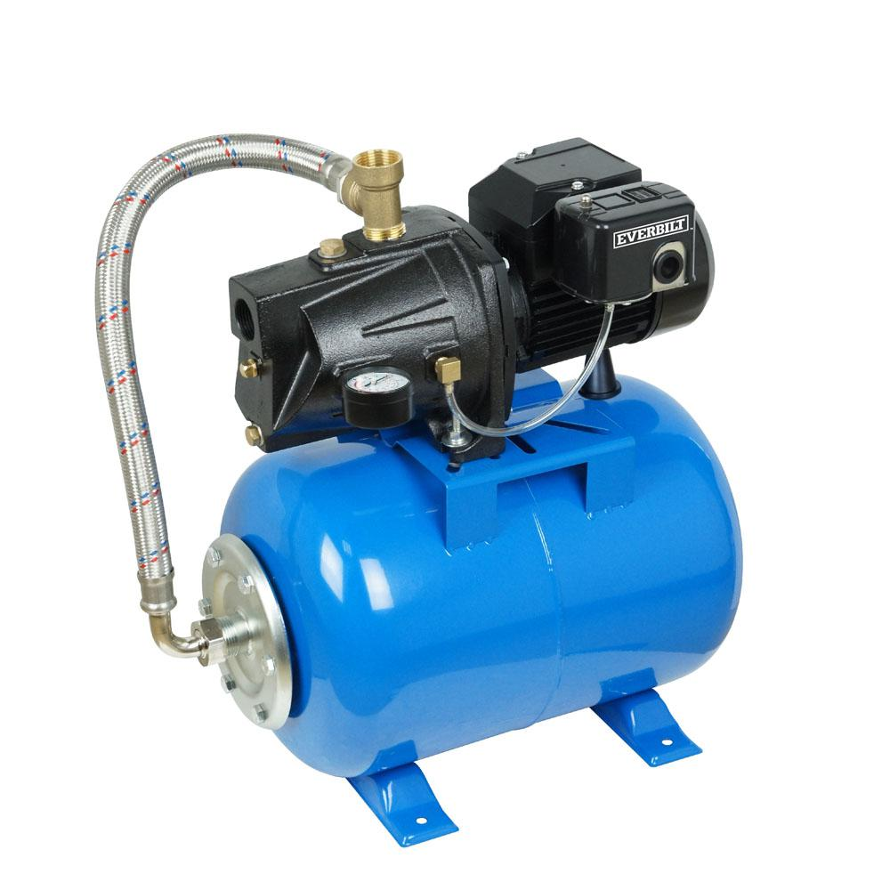 1 2 Hp Shallow Well Jet Pump With 6 Gal Tank