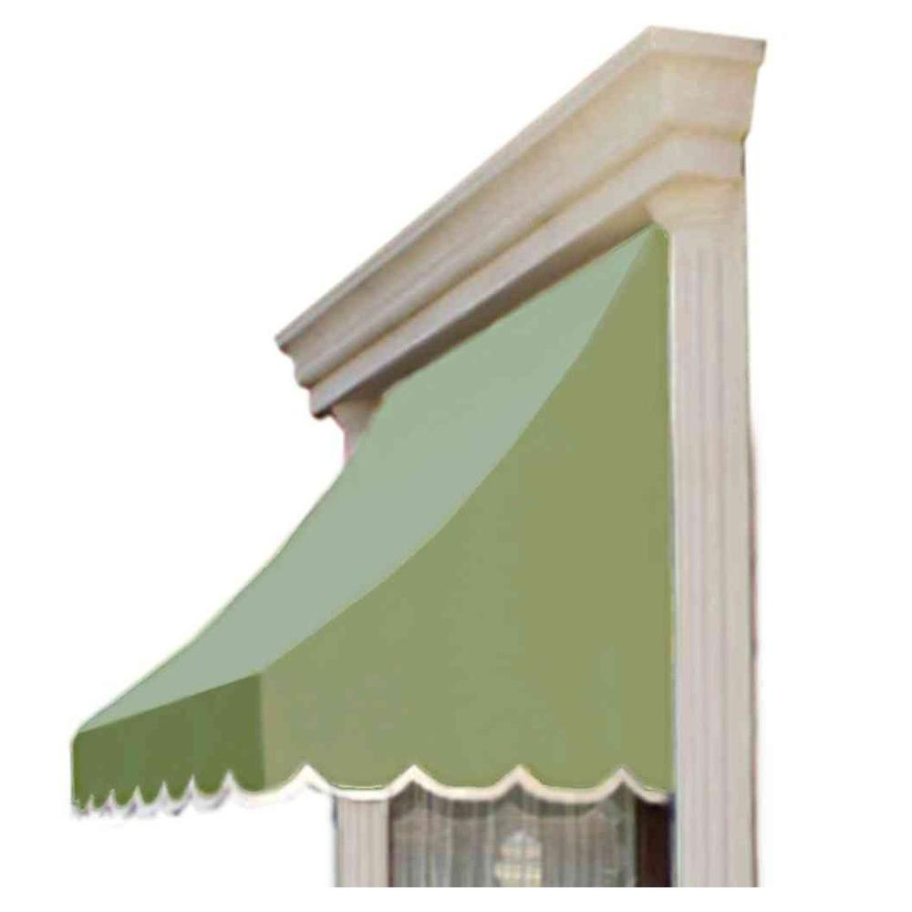 AWNTECH 14 ft. Nantucket Window/Entry Awning (56 in. H x 48 in. D) in Sage