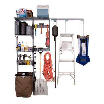 66 in. Shed Wall Storage Center