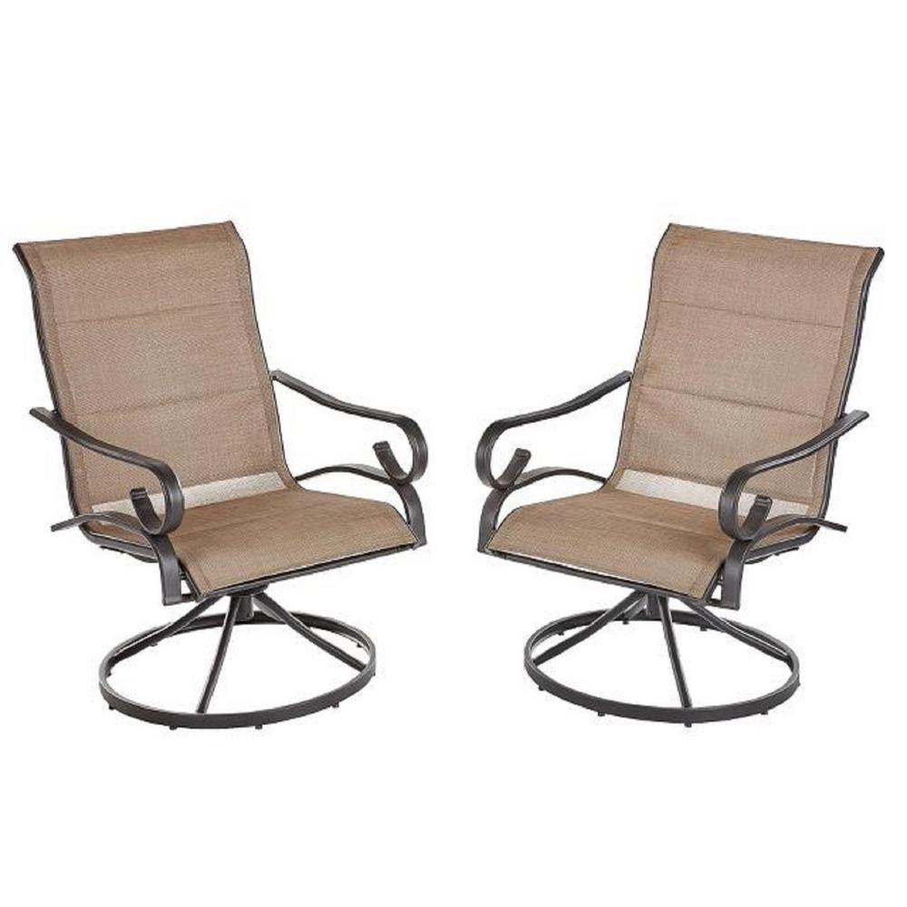 Hampton Bay Swivel Patio Chairs Patio Furniture