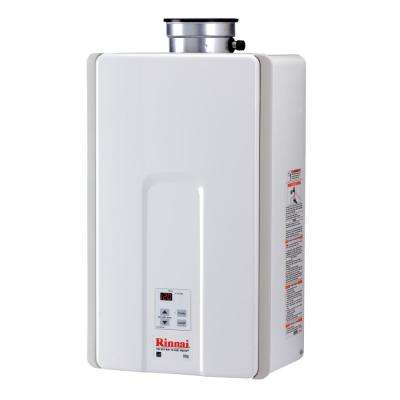 High Efficiency 9.8 GPM Residential 199,000 BTU Natural Gas Interior Tankless Water Heater