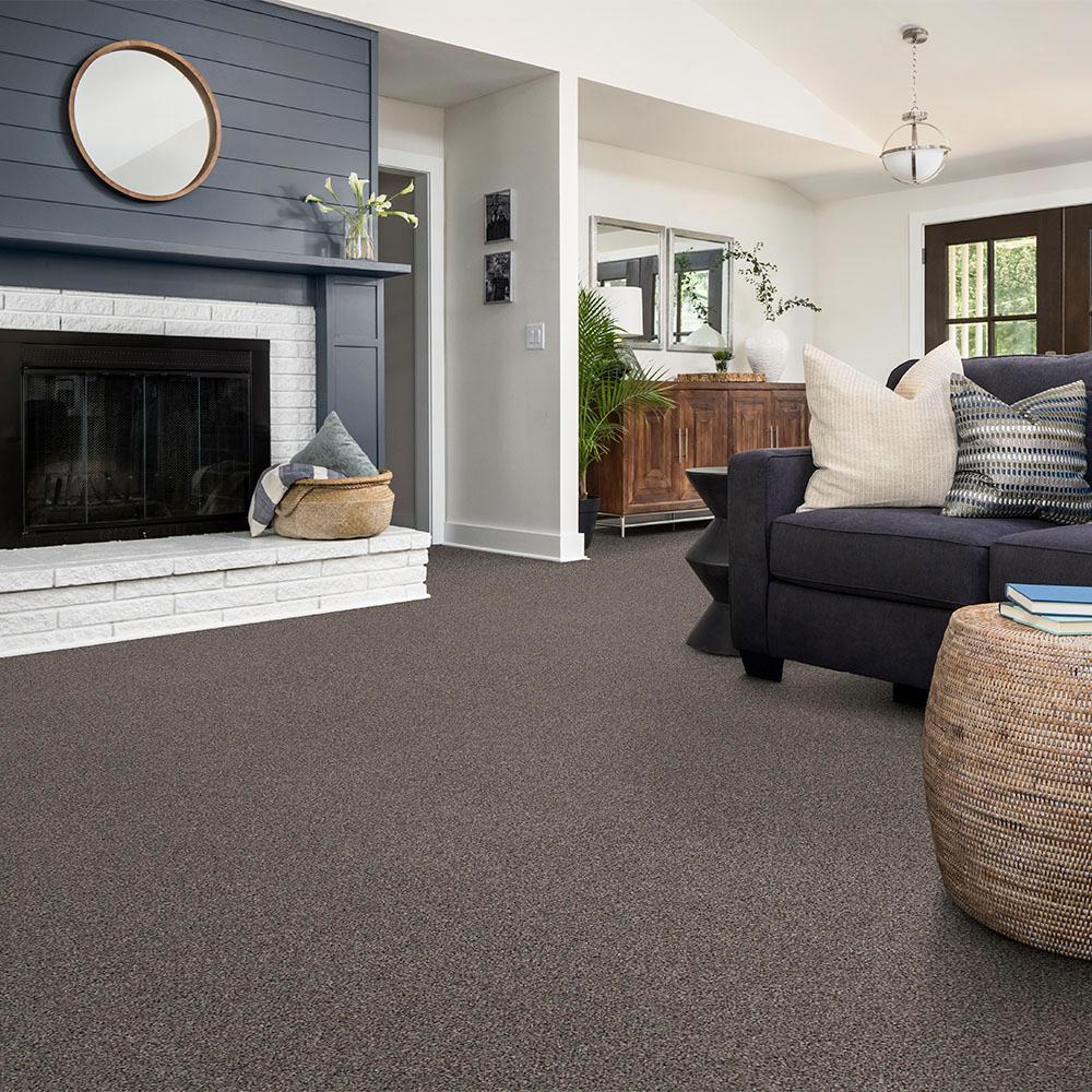 Wholehearted III - Color Shark Fin Twist 15 ft. Carpet