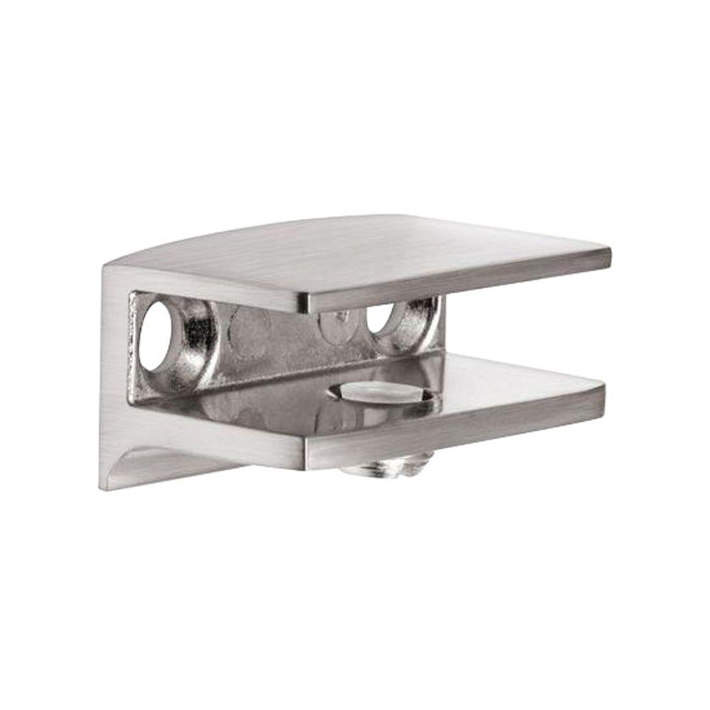 Dolle FLAC Stainless Steel Metal Shelf Bracket for 1/4 in  - 5/16 in  H  Shelves