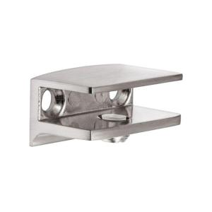 Dolle Flac Stainless Steel Metal Shelf Bracket For 1 4 In 5 16 H Shelves 15750 The Home Depot