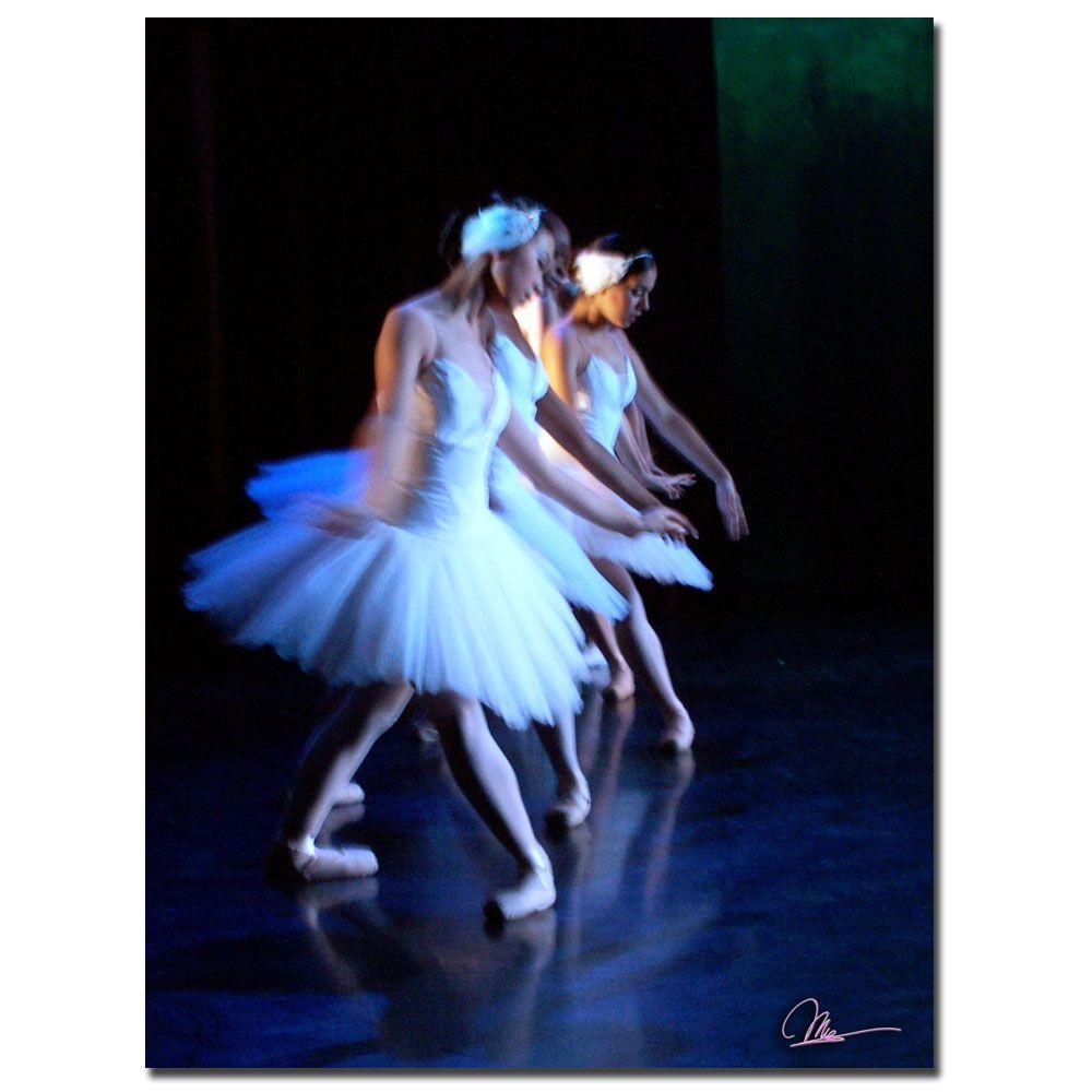 Trademark Fine Art 18 in. x 24 in. Two Dancers Canvas Art