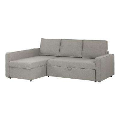 Live-it Cozy 2-Piece Gray Fog Sectional