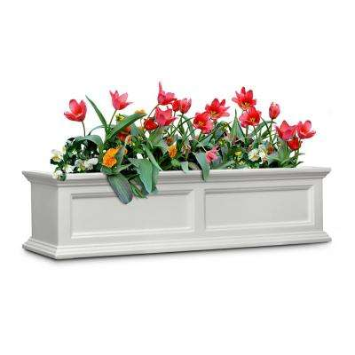 Fairfield 11 in. x 48 in. Plastic Window Box