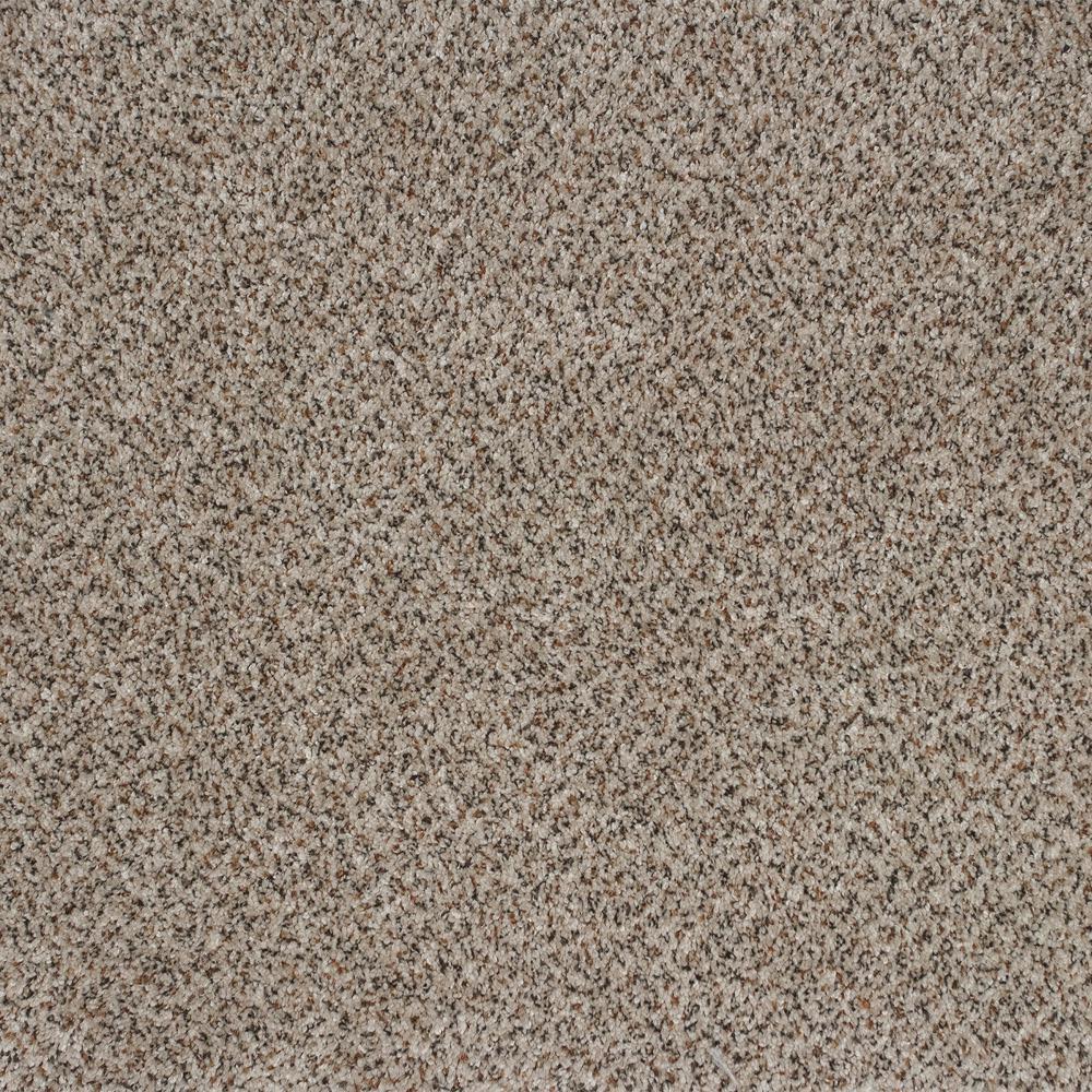 Carpet Sample - Serendipity I - Color Cream Latte Texture 8 in. x 8 in.