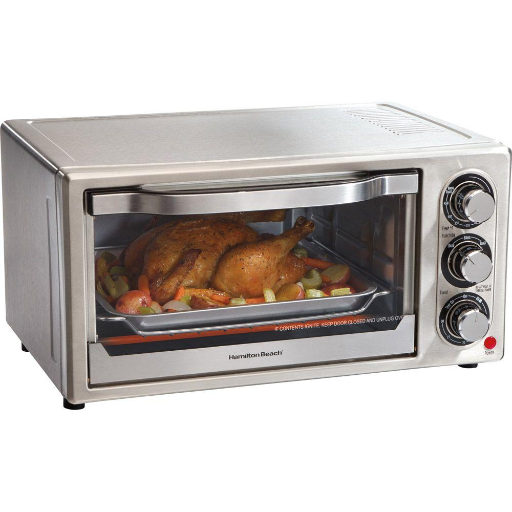 Hamilton Beach 6-Slice Toaster Oven and Broiler-DISCONTINUED