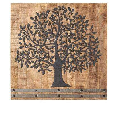36 in. H x 36 in. W Arbor Tree of Life Wall Art