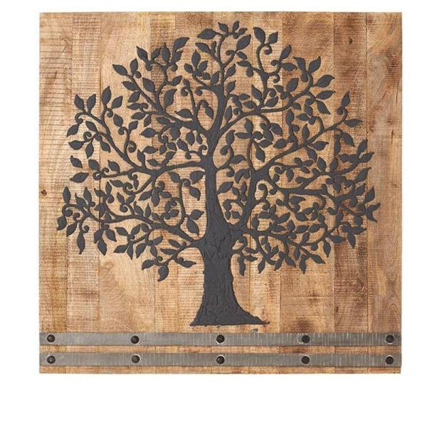 undefined 36 in. H x 36 in. W Arbor Tree of Life Wall Art