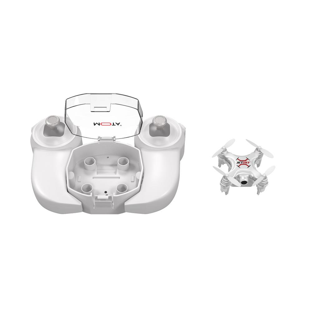 JETJAT ULTRA Drone with OneTouch Take-Off and Landing, White
